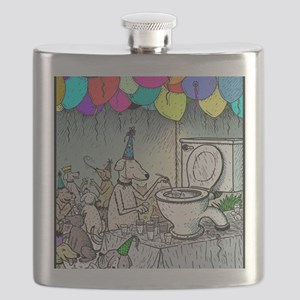 Dog party Toilet water Flask