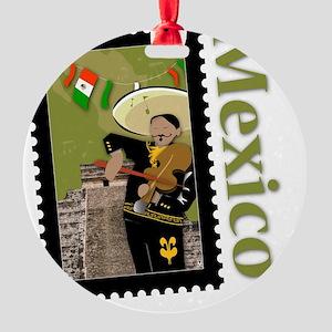 Mexico-Shirt Round Ornament