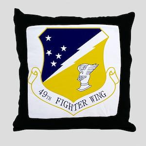 49th FW Throw Pillow