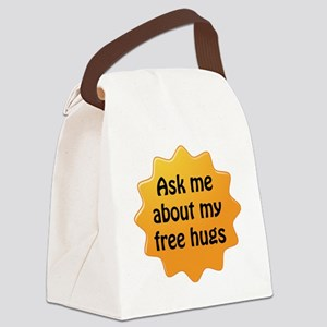Free Hugs Canvas Lunch Bag