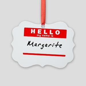 Margarite Picture Ornament