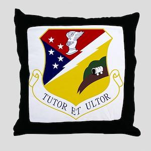 49th FW - Tutor Et Ultor - Old Versio Throw Pillow