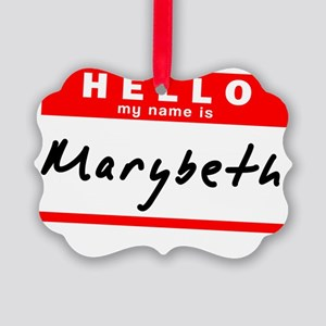 Marybeth Picture Ornament