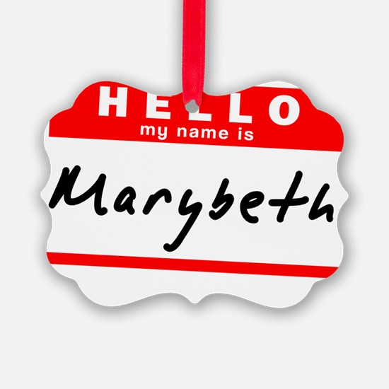 Marybeth Ornament