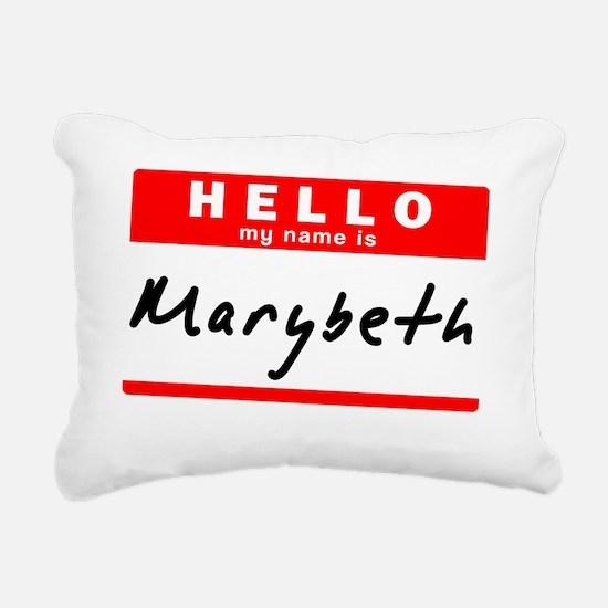 Marybeth Rectangular Canvas Pillow