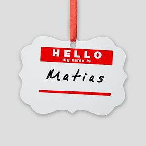 Matias Picture Ornament
