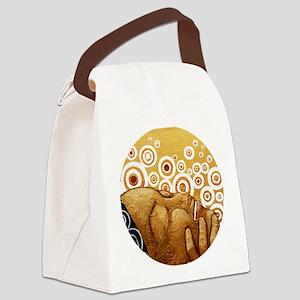 joy Canvas Lunch Bag