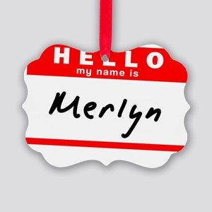 Merlyn Picture Ornament