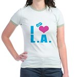 I Love (Heart) L.A. Jr. Ringer T-Shirt