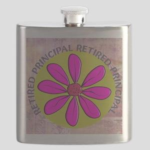 RETIRED PRINCIPAL BLANKET PINK Flask