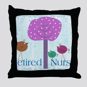 RN blanket 6 Throw Pillow