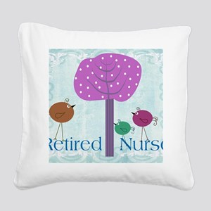 RN blanket 6 Square Canvas Pillow