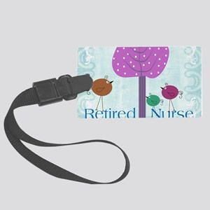RN blanket 6 Large Luggage Tag