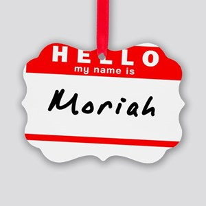 Moriah Picture Ornament