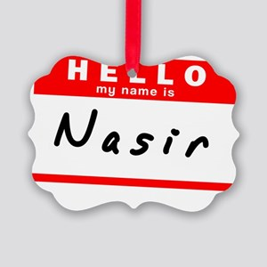 Nasir Picture Ornament