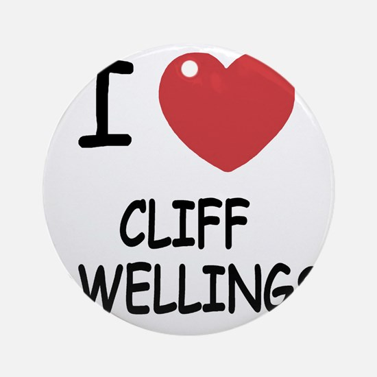 CLIFF_DWELLINGS222 Round Ornament