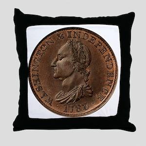 1783Washington 12x12 Throw Pillow