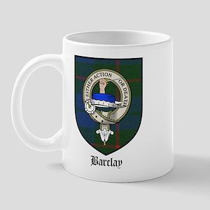 Barclay Clan Crest Tartan Mug