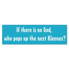 The Next Kleenex Bumper Bumper Sticker