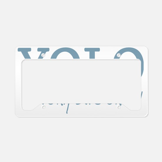 YOLO You Only Live Once License Plate Holder