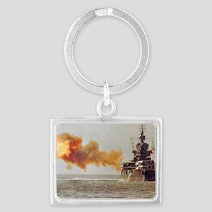idaho large framed print Landscape Keychain