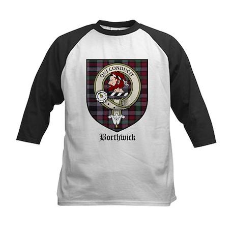 Borthwick Clan Crest Tartan Kids Baseball Jersey