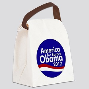 Obama 2012 Canvas Lunch Bag