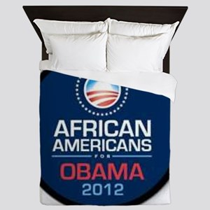 African Americans for Obama Queen Duvet