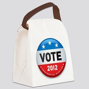 Vote 2012 Canvas Lunch Bag