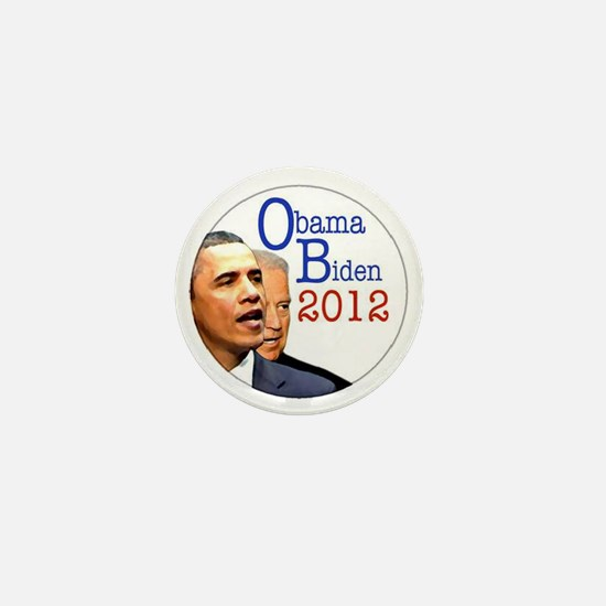 obama biden Mini Button