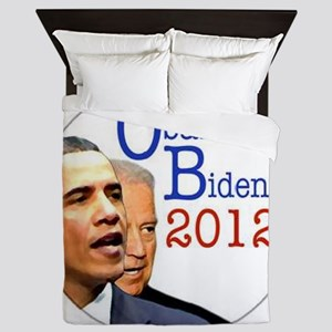 obama biden Queen Duvet