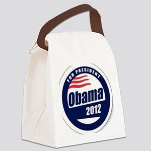 Vote for obama Canvas Lunch Bag