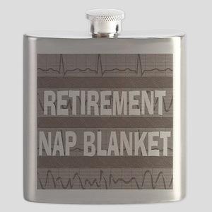 MEDICAL NAP BLANKET BROWN Flask