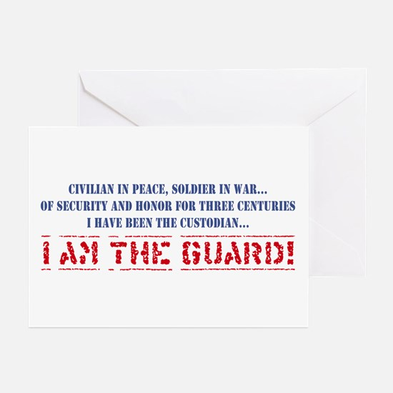 I Am The Guard! Greeting Cards (Pk of 10)