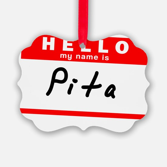 Pita Ornament