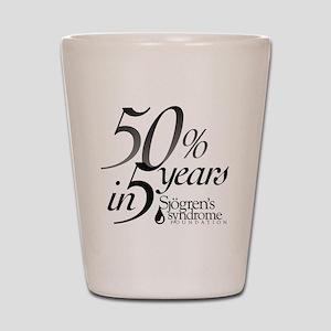 50-5_Logo-bwB Shot Glass