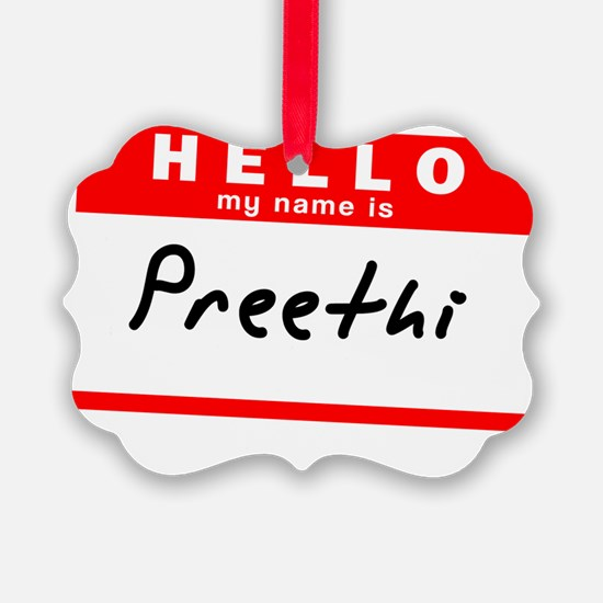 Preethi Ornament