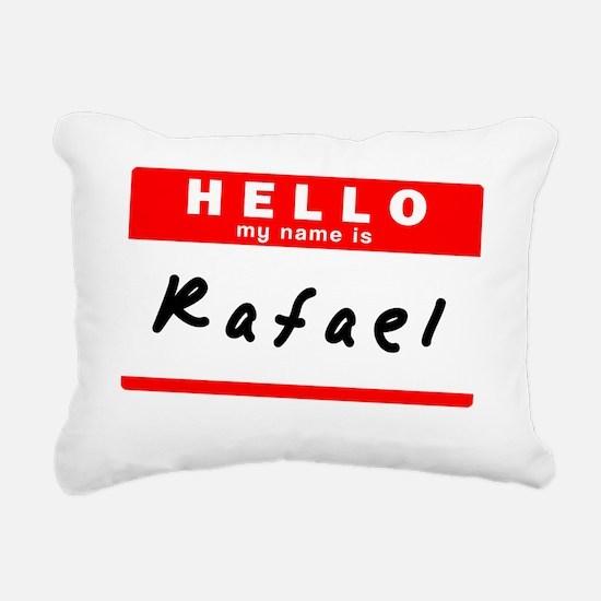 Rafael Rectangular Canvas Pillow