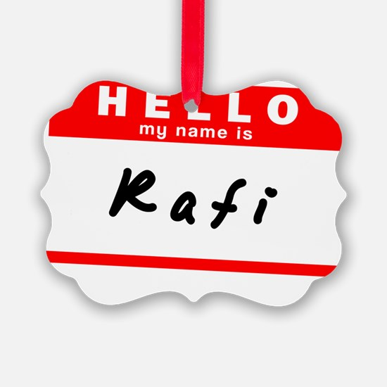 Rafi Ornament