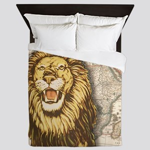 Lion7100 Queen Duvet