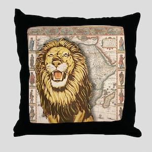 Lion7100 Throw Pillow