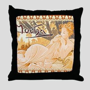 MuchaDusk7100 Throw Pillow