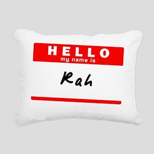 Rah Rectangular Canvas Pillow
