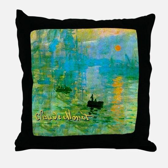 MonetSunrise7100 Throw Pillow