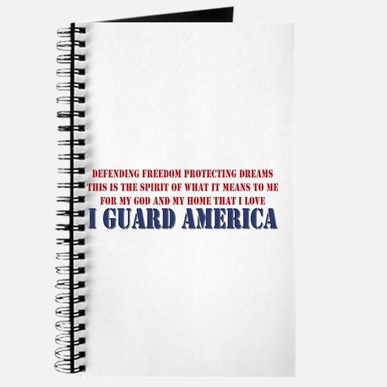 I Guard America Journal