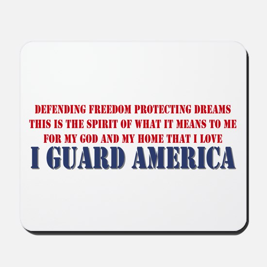 I Guard America Mousepad
