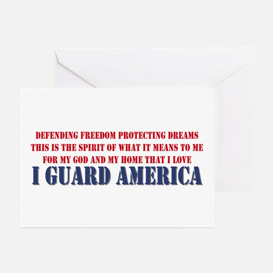 I Guard America Greeting Cards (Pk of 10)