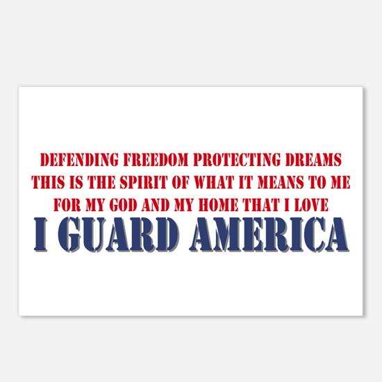 I Guard America Postcards (Package of 8)