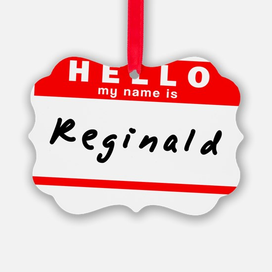 Reginald Ornament