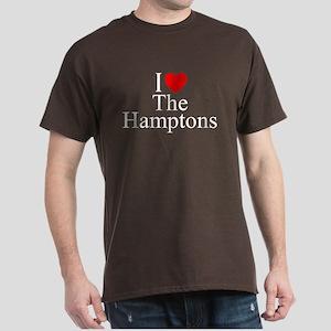 """I Love The Hamptons"" Dark T-Shirt"